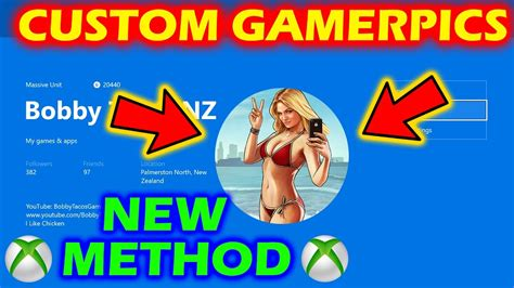 1080x1080 Gamerpic How To Have Your Own Custom Gamerpic