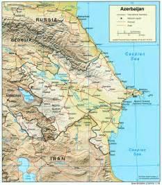 NationMaster - Maps of Azerbaijan (9 in total) Azerbaijan