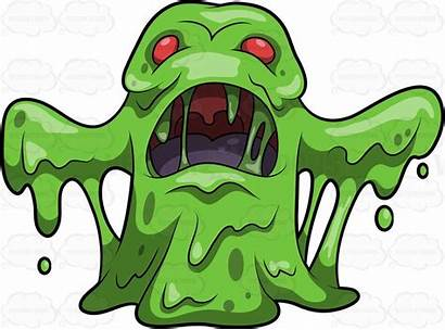 Clipart Creepy Scary Monster Cartoon Monsters Looking