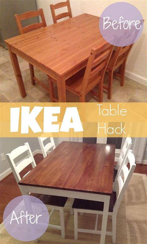 Kitchen Table Hack by Best 10 Ikea Dining Table Ideas On Kitchen
