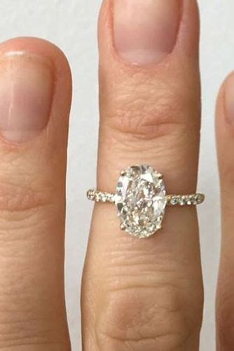 Chic oval engagement rings your heart will   Hair Styles
