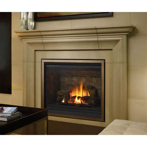 bxte large gas fireplace  seasons air control