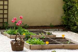 Faire Un Petit Potager En Carré : 5 fleurs pour apporter de la couleur votre potager en carr s ~ Melissatoandfro.com Idées de Décoration