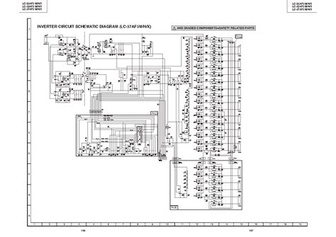 sharp lc37af3m inverter service manual schematics eeprom repair info for electronics