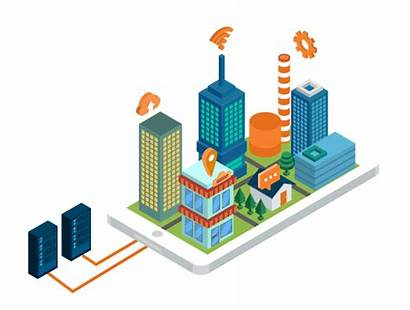 Iot Industry Below Data Business Equipment Center