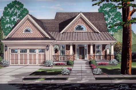 Craftsman Style House Plan 4 Beds 2 50 Baths 2055 Sq/Ft