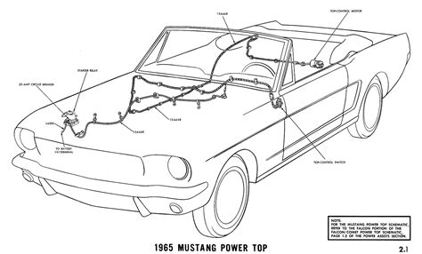1967 Ford Mustang Wire Harnes Diagram by 1965 Mustang Wiring Diagrams Average Joe Restoration