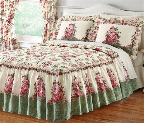 Floral Bedspreads by Floral Garden Bedspread By Collections Etc