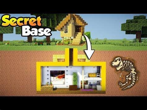 minecraft easy secret base  starter house tutorial