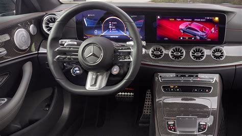 Head of the class, and the pack. 2021 Mercedes AMG E53 Coupe Interior