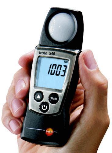 light testo harga jual testo 540 light intensity measuring instrument
