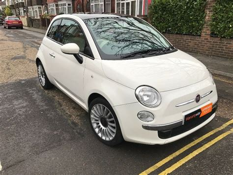 2012 Fiat 500 Lounge by 2012 White Fiat 500 Lounge S S Low Half Leather