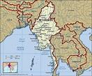 Myanmar   History, Map, Flag, Population, Capital ...