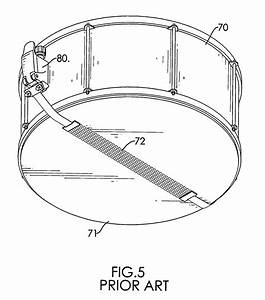 Patent Us7439433 - Snare Drum Strainer