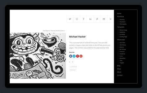 Portfolio Themes Portfolio Theme A Theme For Artists And Designers
