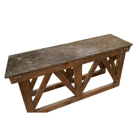 During their (funny) awkward silences, someone should have ordered bluestone brownies or. NORA RECYCLED PINE AND BLUESTONE COFFEE TABLE - Furniture ...