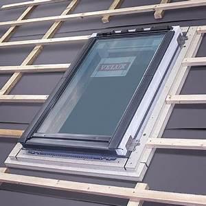 Velux Fenster Einbau : abdichtung von dachfenstern mit eindeckrahmen velux ~ Orissabook.com Haus und Dekorationen