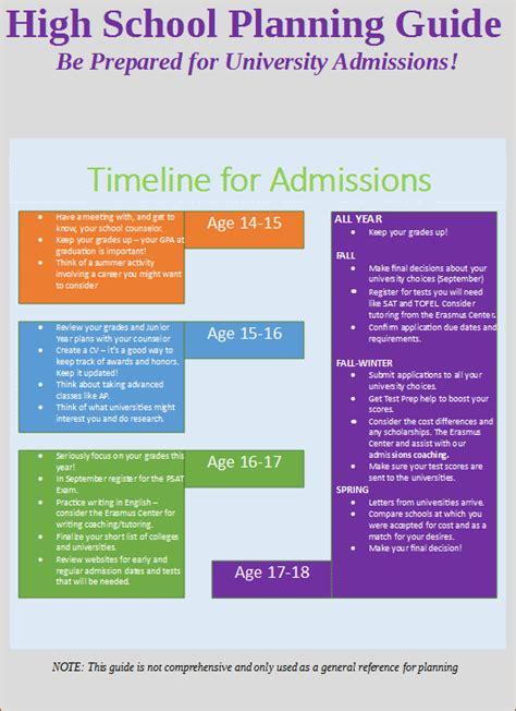 college planning calendar erasmus center asbl