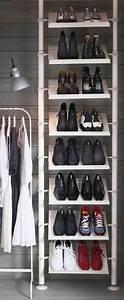 Schuhschränke Für Viele Schuhe : die besten 25 schuhregal ikea ideen auf pinterest ikea schuhregal schuh regal und ikea schuh ~ Markanthonyermac.com Haus und Dekorationen