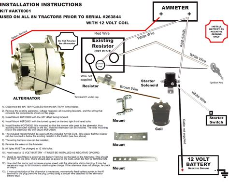 ford 600 tractor 12 volt wiring diagram powermaster