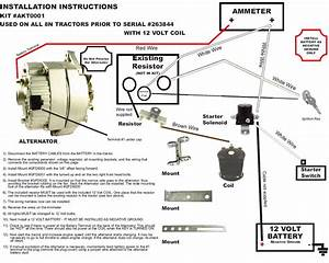 Ford 600 Tractor 12 Volt Wiring Diagram Powermaster Alternator Wiring  U2026 Wiring Diagram