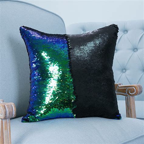 color changing pillow reversible sequin mermaid pillowcase magical color