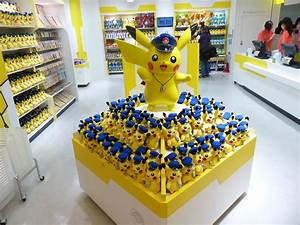 pokemon store in tokyo opens today is filled with adorable pikachu merchandise