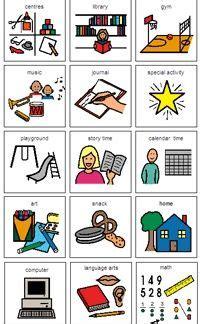 boardmaker picture schedules kindergarten daily