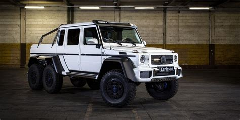 2014 Mercedes G63 Amg 6x6 By Carlsson Pictures, Photos