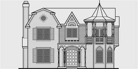 Unique Victorian Classic Tv Munster House Plan