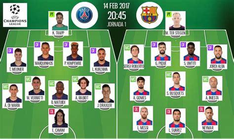 Barcelona - PSG gratis online 08/03/2017