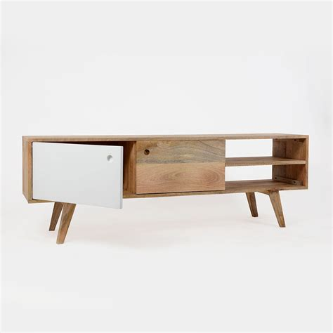 canape a angle meuble tv scandinave bois massif laqué made in meubles