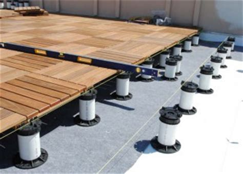 ipe deck tiles ipe decking tile tech pavers parklet pedestal wood decks and