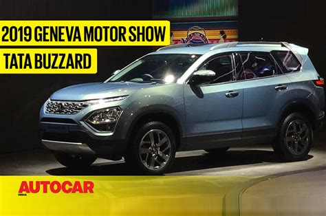 Tata Buzzard Suv First Look Video