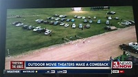 Drive-in theaters making a comeback