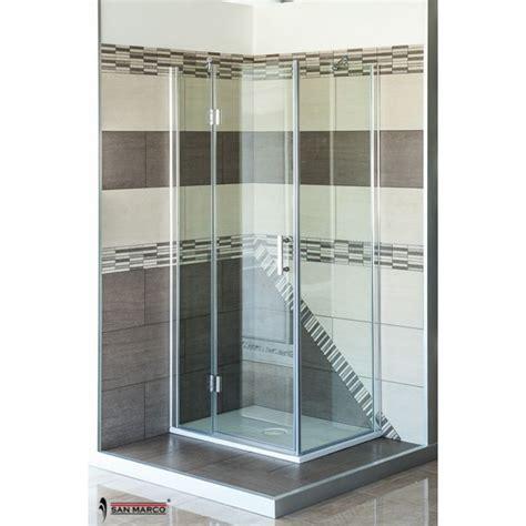 box doccia san marco luxor  mm porta battente san marco
