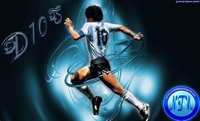 Maradona Diego Wallpapers Armando Football Desktop 3d