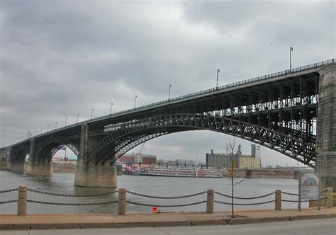 St Louis Light Rail by Arch