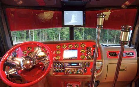 custom big rig interiors las vegas  fergus truck