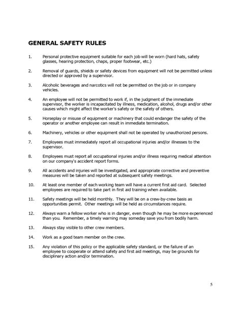 safety committee guidance  logging