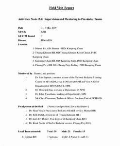 Free 16  Visit Report Examples  U0026 Samples In Pdf
