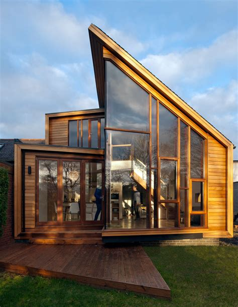 Family Home Extension In Edinburgh Features Glass Walls