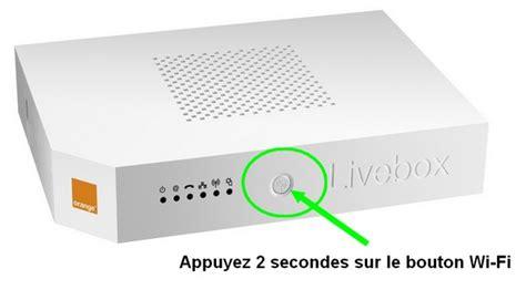 configuration du reseau wifi de la livebox  dorange
