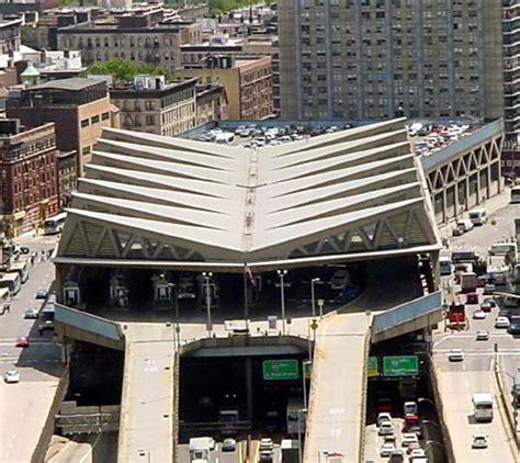 bus station york washington bridge george nervi pier luigi port authority ny 178th street nj broadway project 1963 redevelopment phase
