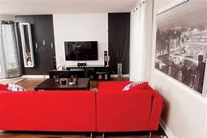 Decoration Salon Contemporain : un salon de style contemporain les id es de ma maison ~ Teatrodelosmanantiales.com Idées de Décoration