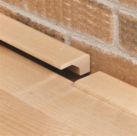 Square Nose   Wood Floor End Cap, Transition Molding for