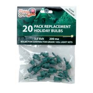 holiday bright lights 3 5 volt clear contractor replacement bulbs 253500a replacement bulbs