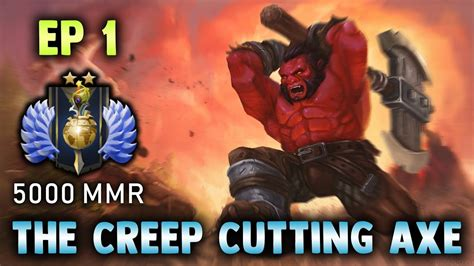 the cutting axe episode 1 dota 2 gameplay with commentary new strategy youtube