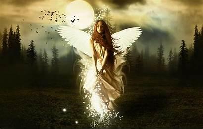 Angel Desktop Wallpapers Angels Dark Quotes Apsara