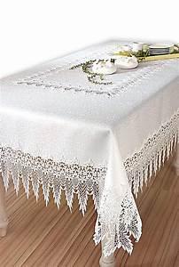Tischdecke Mit Spitze : tischdecke spitze gr sse 130 x 170 cm bestellen ~ Lizthompson.info Haus und Dekorationen
